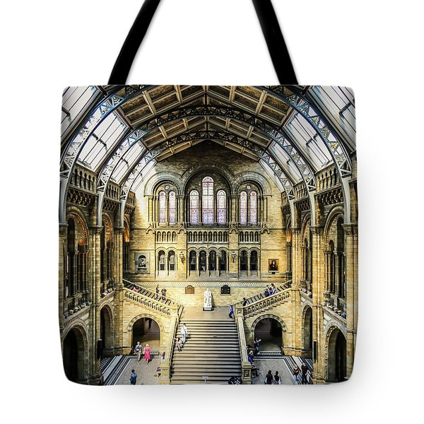 Tote Bag featuring the photograph Natural History  by Michael Hope