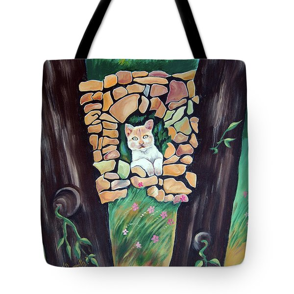Natural Home Tote Bag