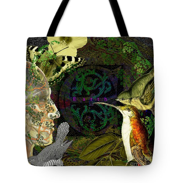 Natural Man Tote Bag by Joseph Mosley