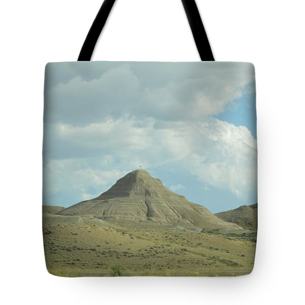 Natural Pyramid Tote Bag