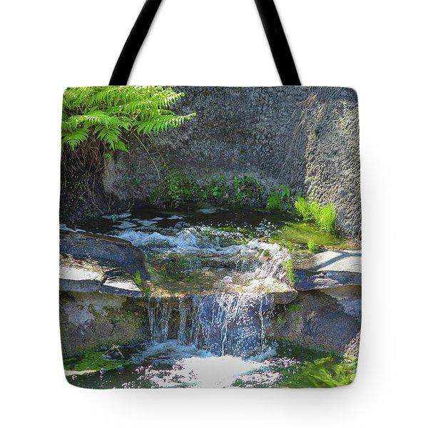 Natural Spa Zone Tote Bag
