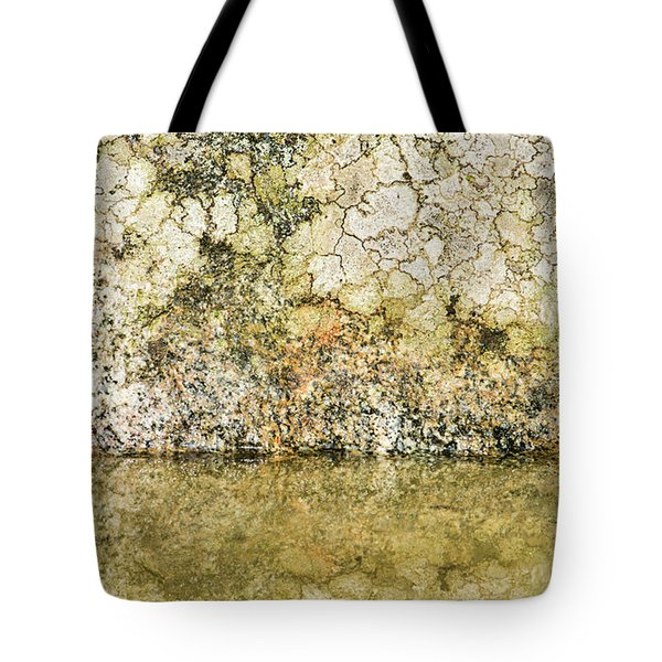 Tote Bag featuring the photograph Natural Stone Background by Torbjorn Swenelius