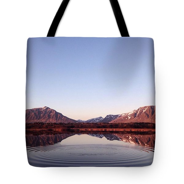 Natural Symmetry Tote Bag by Happy Home Artistry