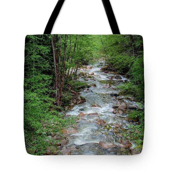 Naturally Pure Stream Backroad Discovery Tote Bag