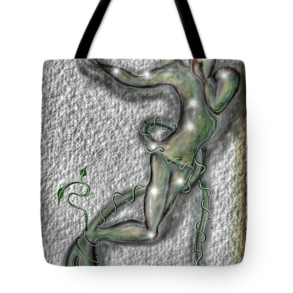 Tote Bag featuring the digital art Nature And Man by Darren Cannell