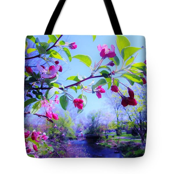 Nature Awakening Tote Bag