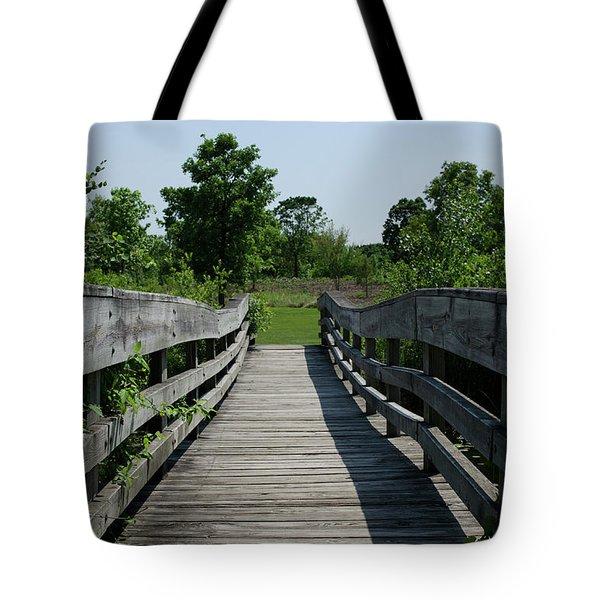 Nature Bridge Tote Bag