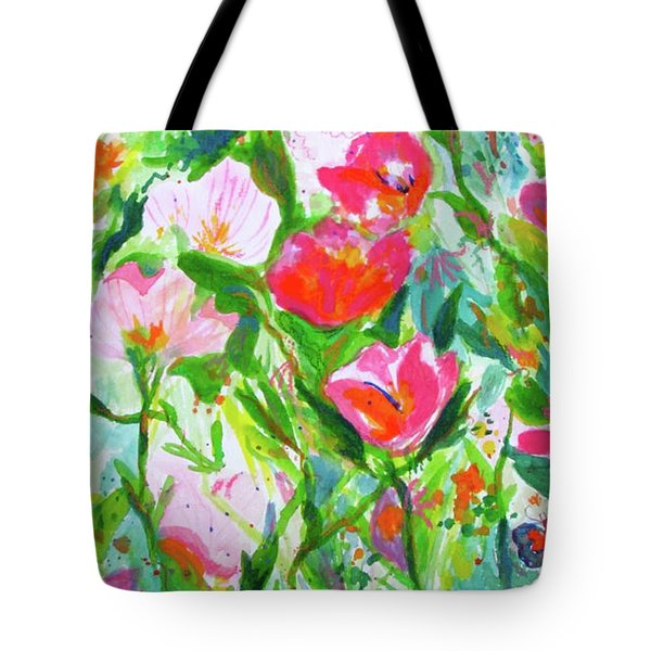 Nature Dance Tote Bag by Beth Saffer