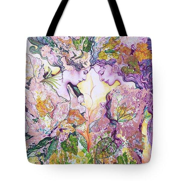 Nature Fairies Tote Bag