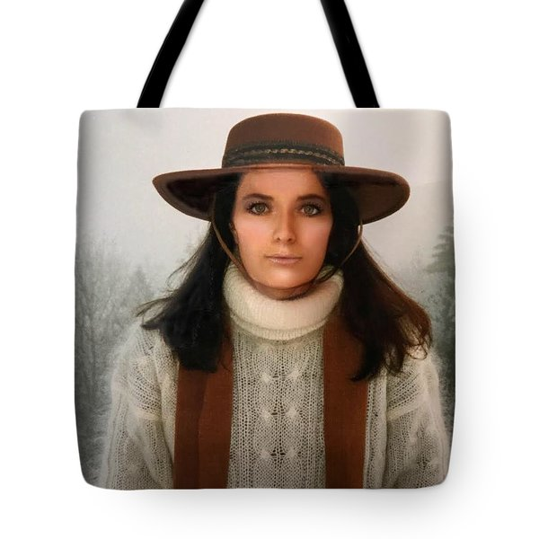 Nature Harmony Self Portrait  Tote Bag