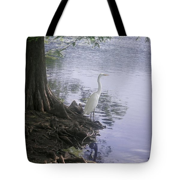 Nature In The Wild - Musings By A Lake Tote Bag by Lucyna A M Green