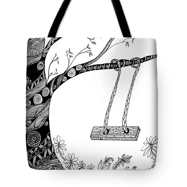 Nature Is Calling Come Out And Play Tote Bag