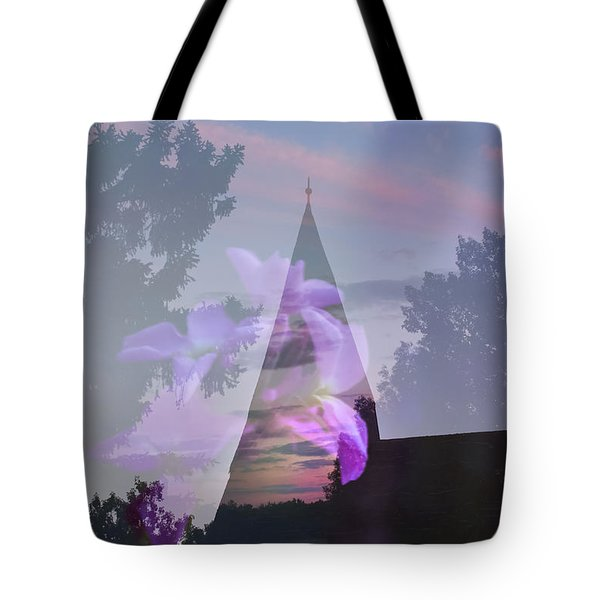 Nature Is My Church Tote Bag by Ellery Russell