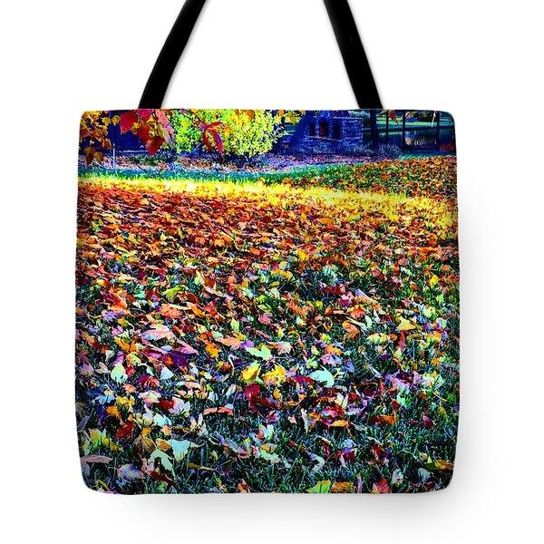 Nature Romancing Us Tote Bag