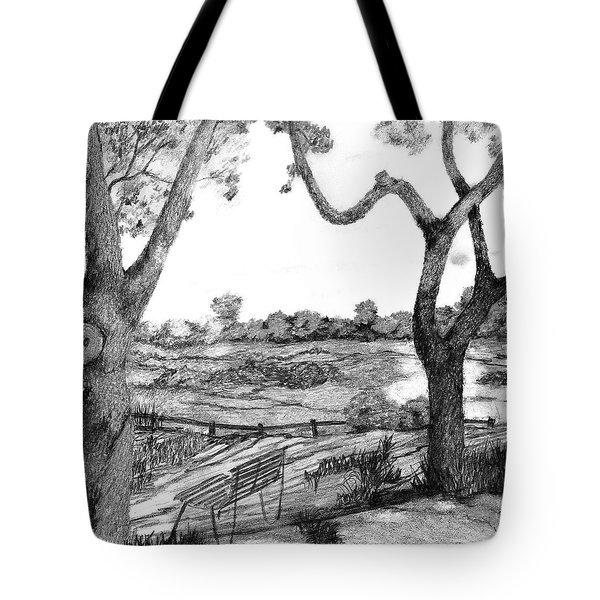 Nature Sketch Tote Bag