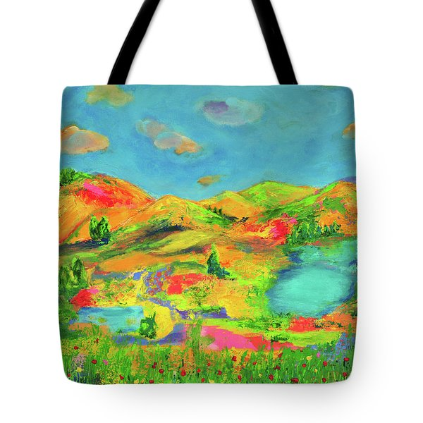 Nature Speaks Tote Bag