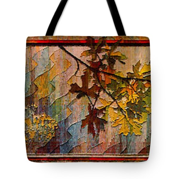 Tote Bag featuring the photograph Nature Tapestry 1997 by Padre Art