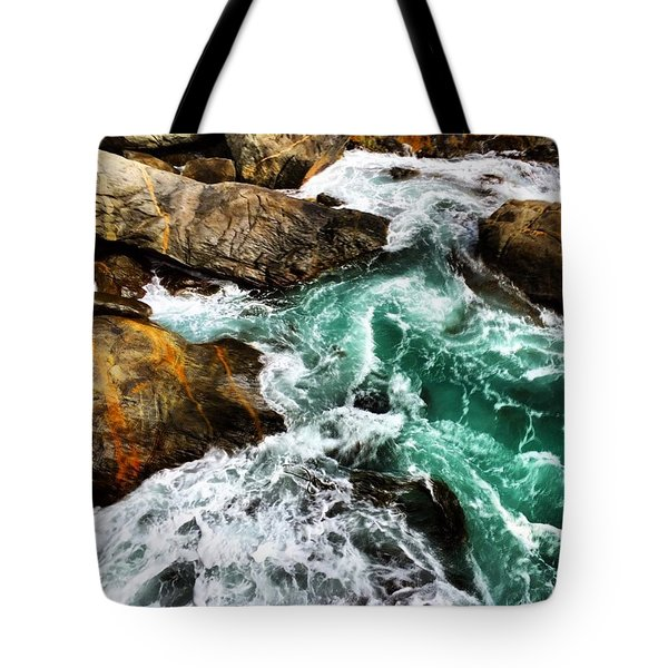 #nature #teaches Us About The #flow Of Tote Bag