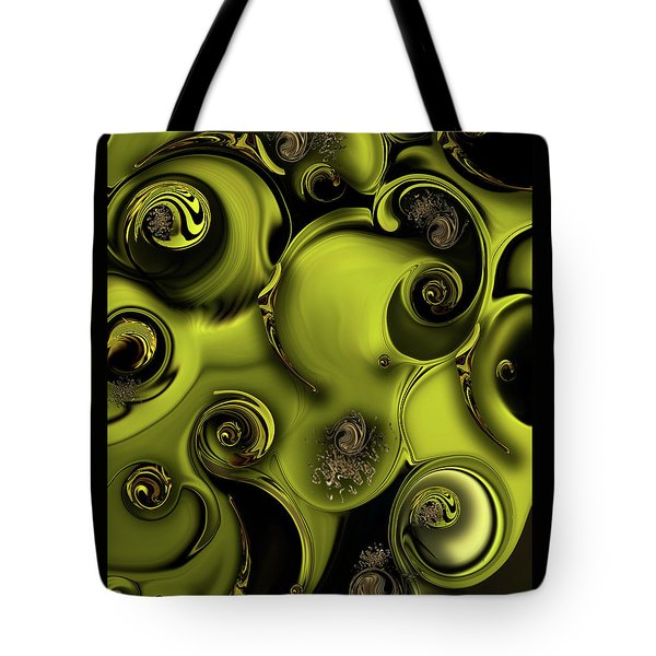 Nature Vs Work Tote Bag by Carmen Fine Art