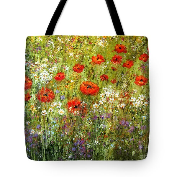 Nature Walk Tote Bag by Valerie Travers