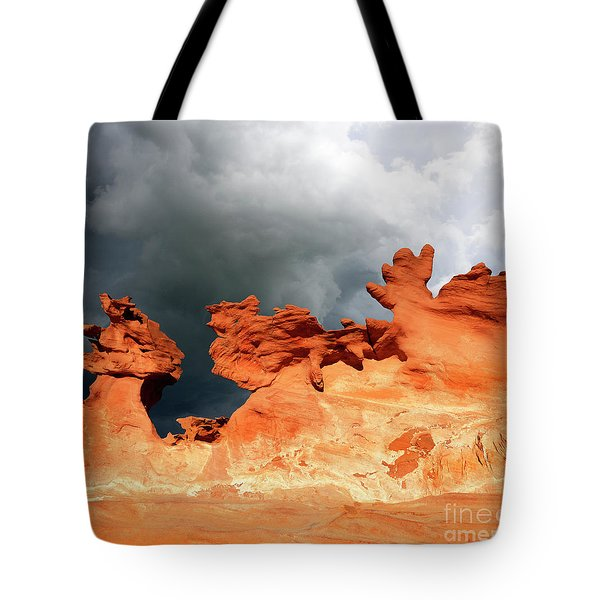 Nature's Artistry Nevada Tote Bag by Bob Christopher