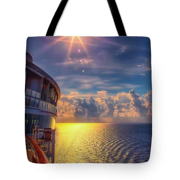 Natures Beauty At Sea Tote Bag