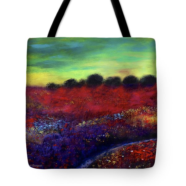 Natures Bouquet Tote Bag