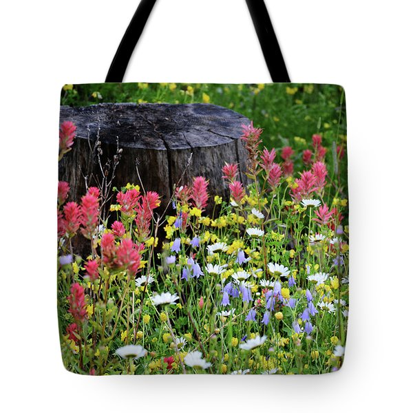 Nature's Bouquet Tote Bag