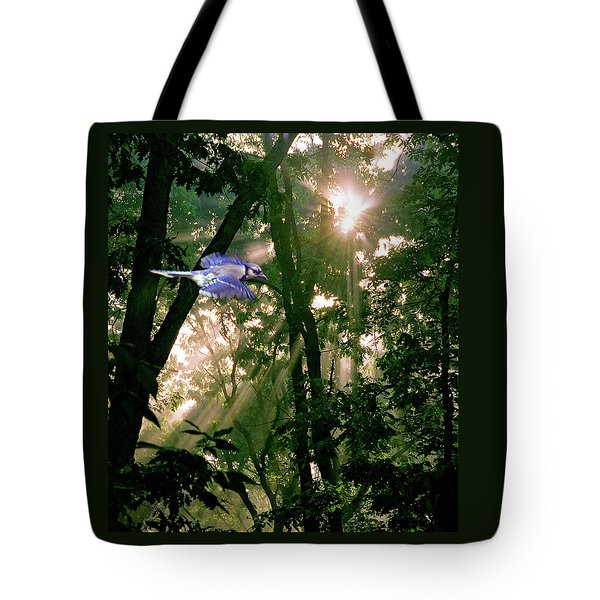 Tote Bag featuring the photograph Nature's Cathedral by Marie Hicks