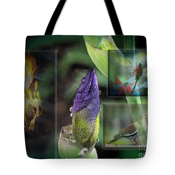 Natures Collage Tote Bag