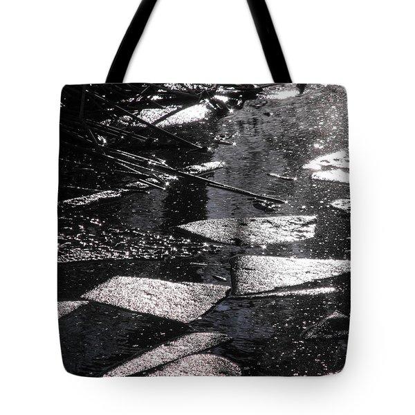 Nature's Cubism Tote Bag