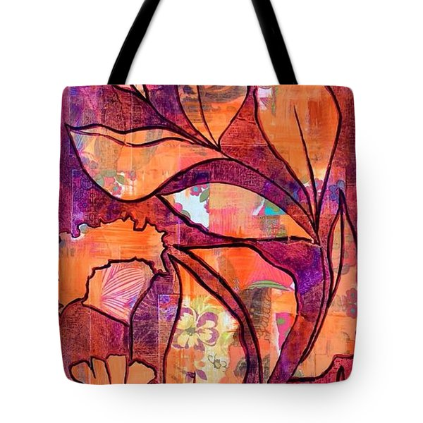 Nature's Dance Tote Bag by Julie Hoyle