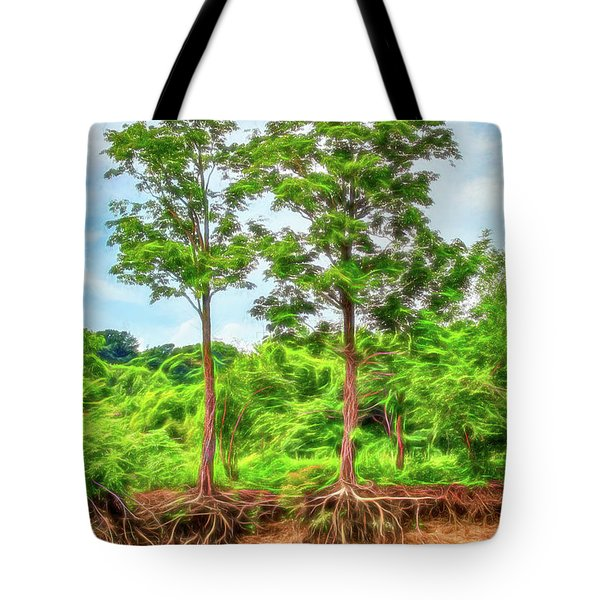 Nature's Electricity Tote Bag