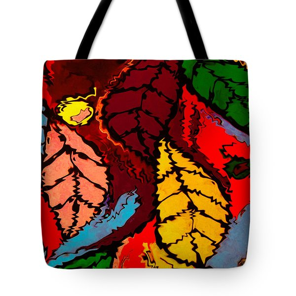 Natures Explosion Tote Bag