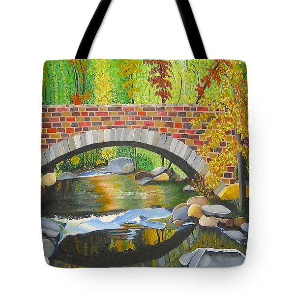 Tote Bag featuring the painting Natures Eye by Donna Blossom
