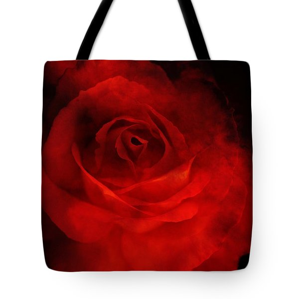 Tote Bag featuring the photograph Natures Flame by Stephen Mitchell