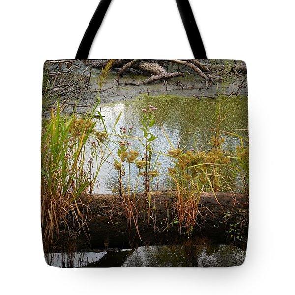 Natures Flower Pot Tote Bag