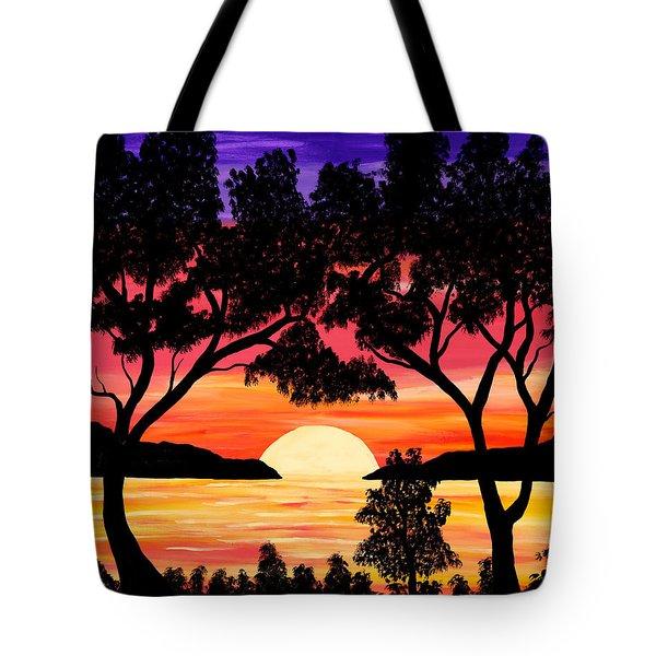Nature's Gift - Ocean Sunset Tote Bag