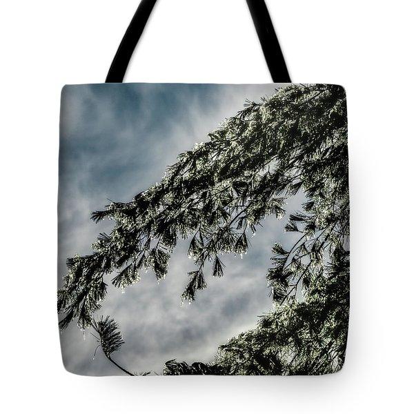 Natures Glitter Tote Bag