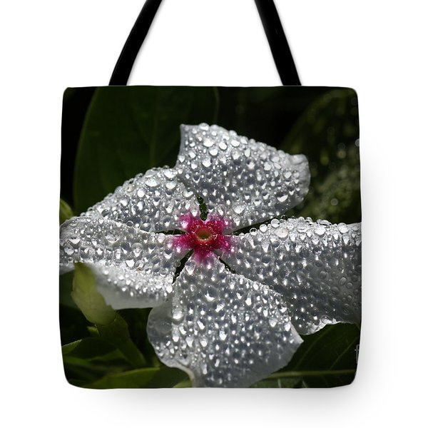 Natures Glitter Tote Bag