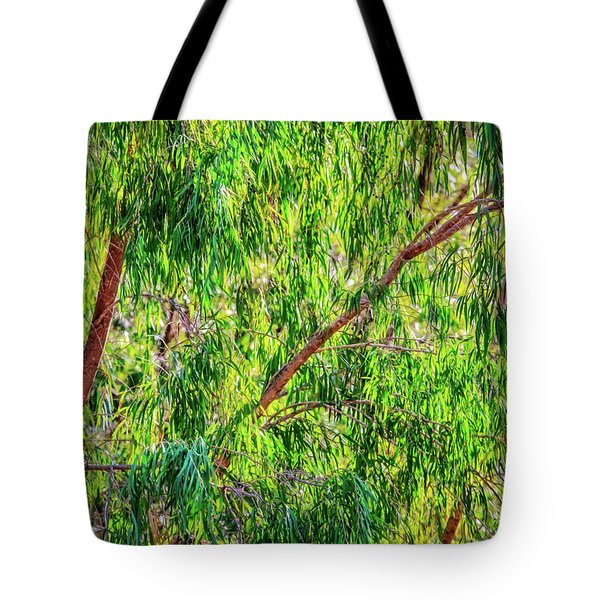 Tote Bag featuring the photograph Natures Greens, Yanchep National Park by Dave Catley