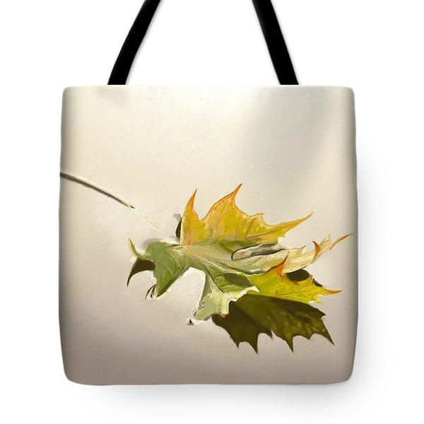 Nature's Handshake 3 Tote Bag