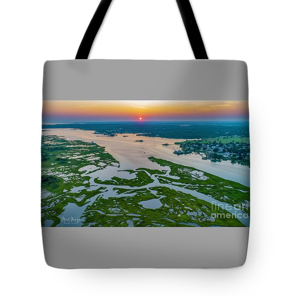 Tote Bag featuring the photograph Natures Hidden Lines by Michael Hughes