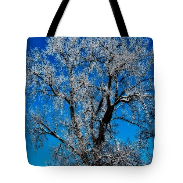 Natures Lace Tote Bag