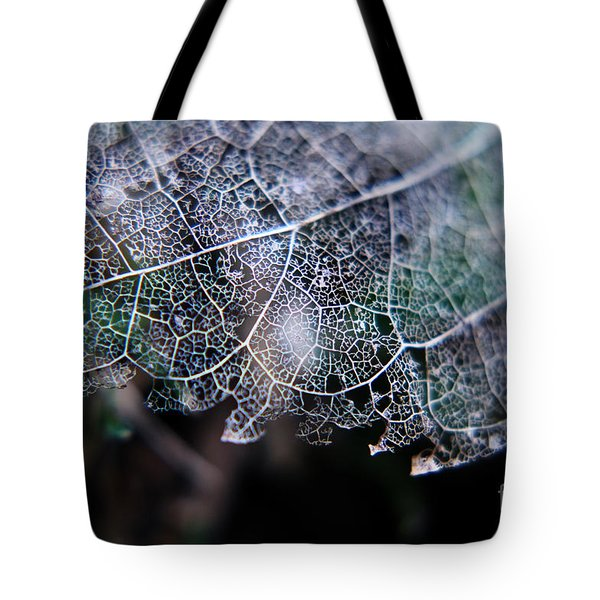 Nature's Lace Tote Bag by Rebecca Davis