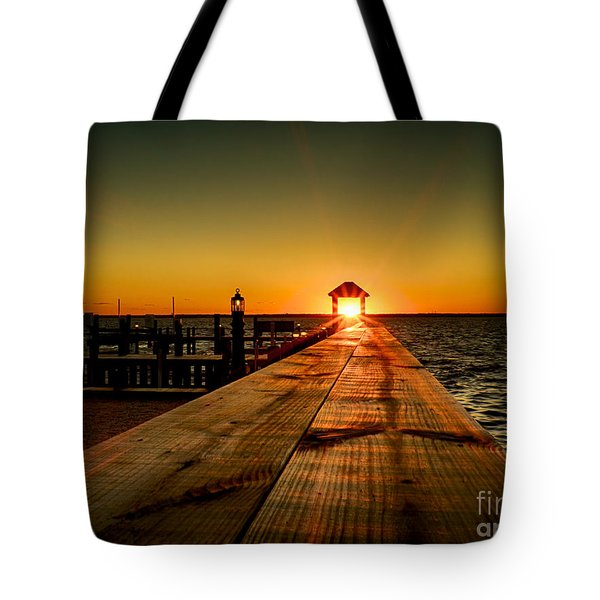 Nature's Lantern Tote Bag by Mark Miller