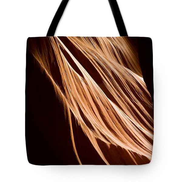 Natures Lines Tote Bag by Adam Romanowicz