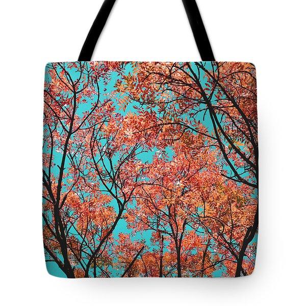 Natures Magic - Orange Tote Bag