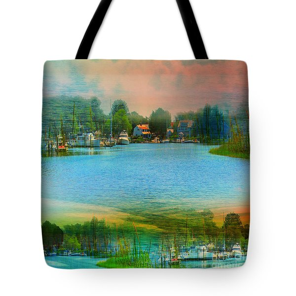 Nature's Magical Sunsets Tote Bag by Judy Palkimas
