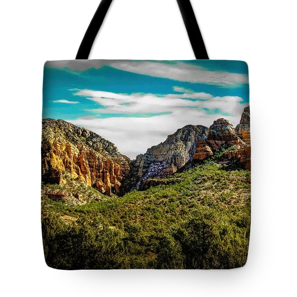 Natures Paintbrush Tote Bag by Jon Burch Photography